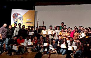 Arena students participate & win prizes at  Creative Minds 2017, Mumbai
