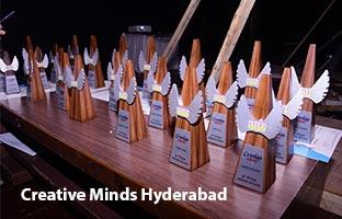 Arena Students Won Awards at Creative Minds, Hyderabad Region